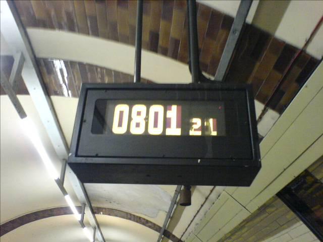 Regent's park tube