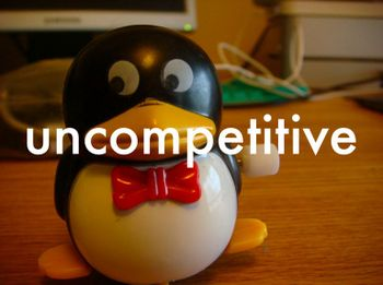Uncompetitive