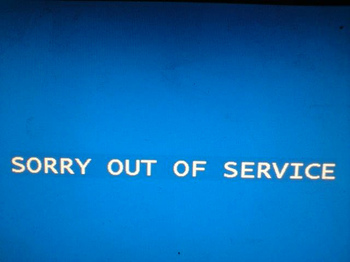 Outofservice